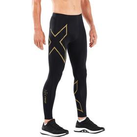 2XU MCS Run Compression Tights Men black/gold reflective